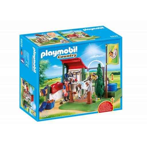 PLAYMOBIL 6929 SET DE LIMPIEZA PARA CABALLOS [0]