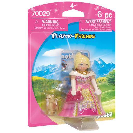 PLAYMOBIL  70029  PRINCESA CON PERRO PLAYMO-FRIENDS