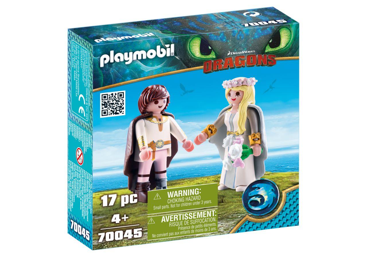 PLAYMOBIL 70045 HIPO Y ASTRID (DRAGONS)
