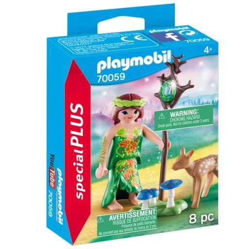 PLAYMOBIL 70059 Elfa con ciervo
