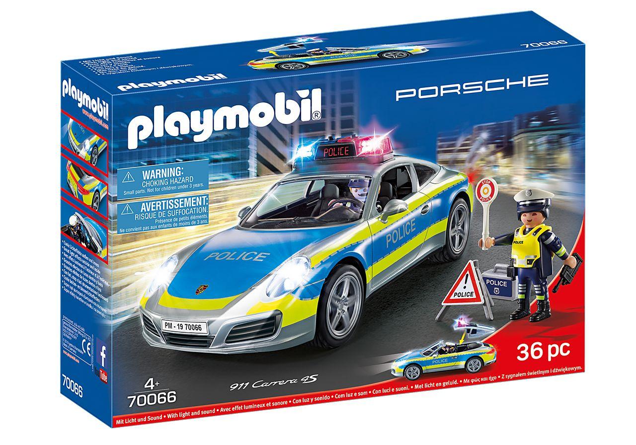 PLAYMOBIL 70066 PORSCHE 911 CARRERA 4S COCHE POLICIA