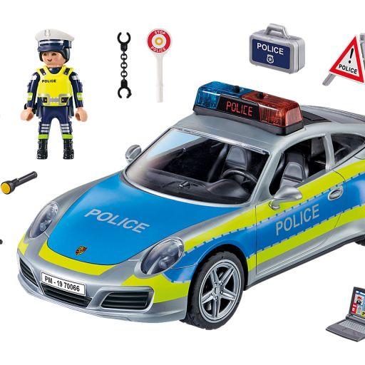 PLAYMOBIL 70066 PORSCHE 911 CARRERA 4S COCHE POLICIA  [1]