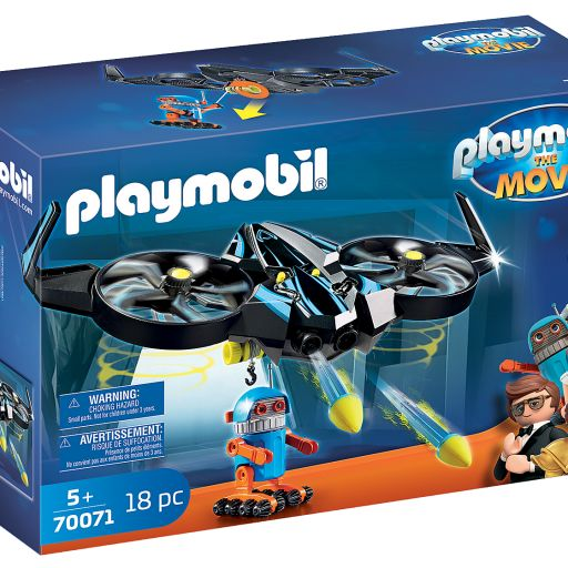 PLAYMOBIL 70071  THE MOVIE ROBOTITRON CON DRON