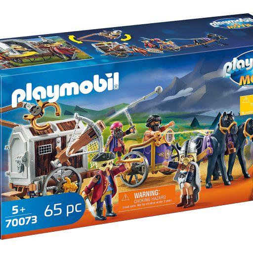 PLAYMOBIL 70073  THE MOVIE CHARLIE CON CARRO PRISIÓN