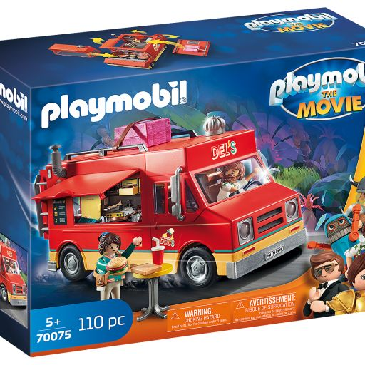 PLAYMOBIL 70075  THE MOVIE FOOD TRUCK DEL [0]