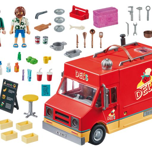 PLAYMOBIL 70075  THE MOVIE FOOD TRUCK DEL [1]