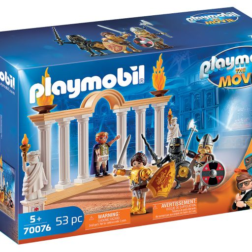 PLAYMOBIL 70076  THE MOVIE EMPERADOR MAXIMUS EN EL COLISEO