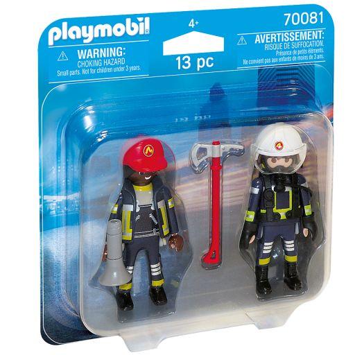 PLAYMOBIL 70081 DUO PACK BOMBEROS