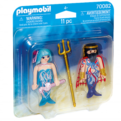 PLAYMOBIL 70082 DUO PACK SIRENAS REYES DEL MAR