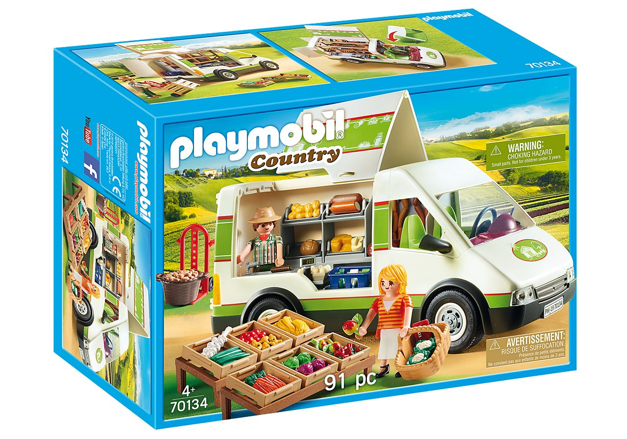 PLAYMOBIL 70134 MERCADO MOVIL