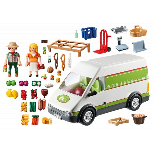 PLAYMOBIL 70134 MERCADO MOVIL [1]