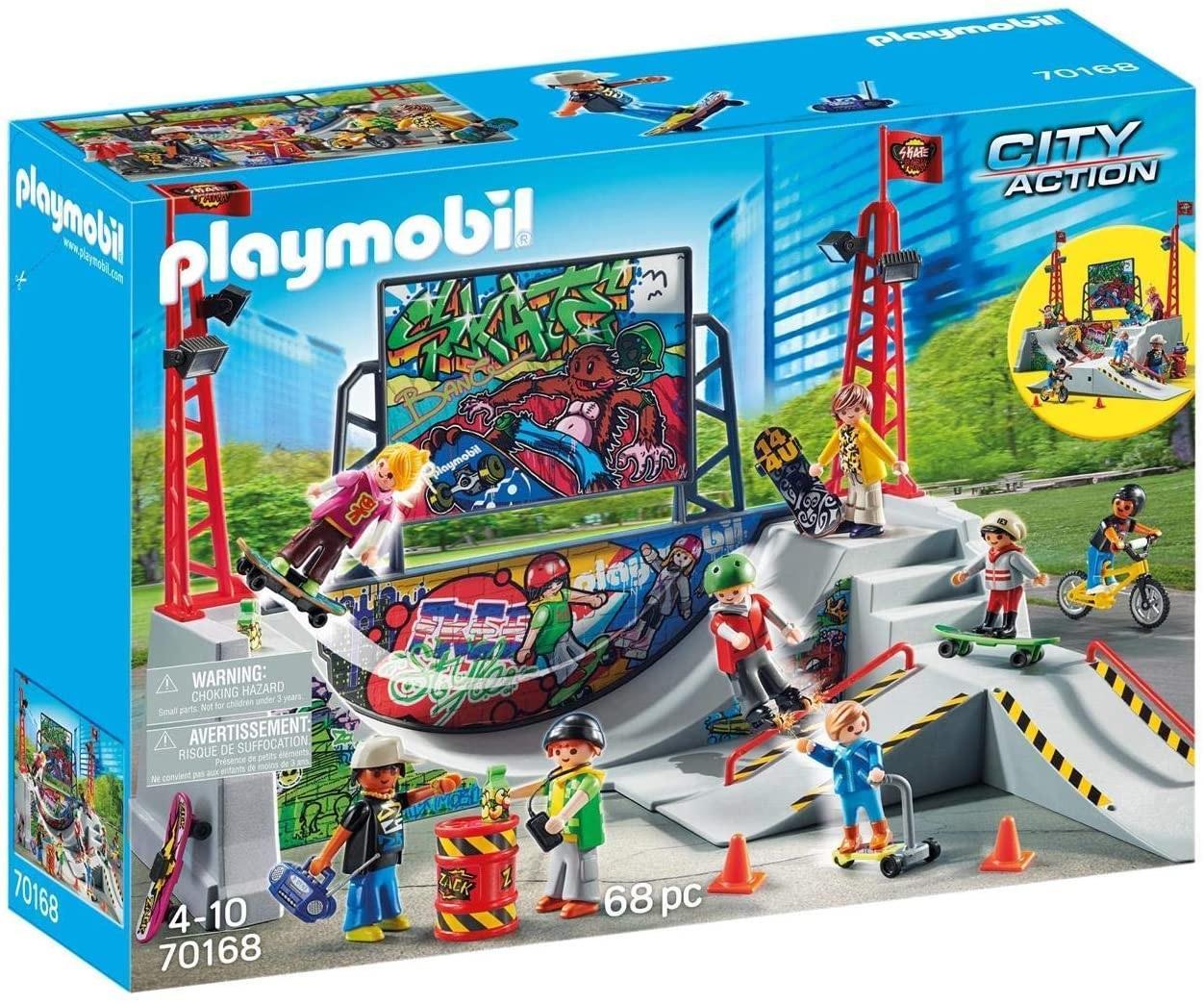 PLAYMOBIL 70168 PISTA DE SKATE