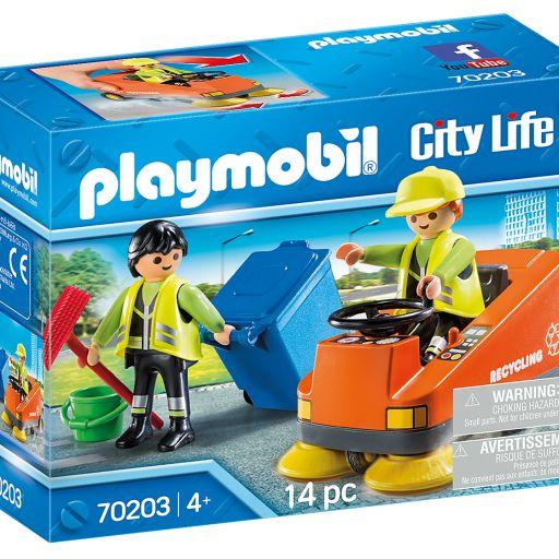 PLAYMOBIL 70203 VEHICULO DE LIMPIEZA