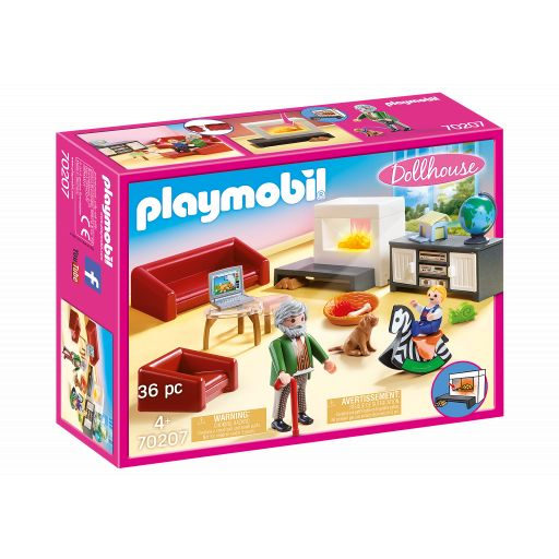 PLAYMOBIL 70207 SALON CONFORTABLE