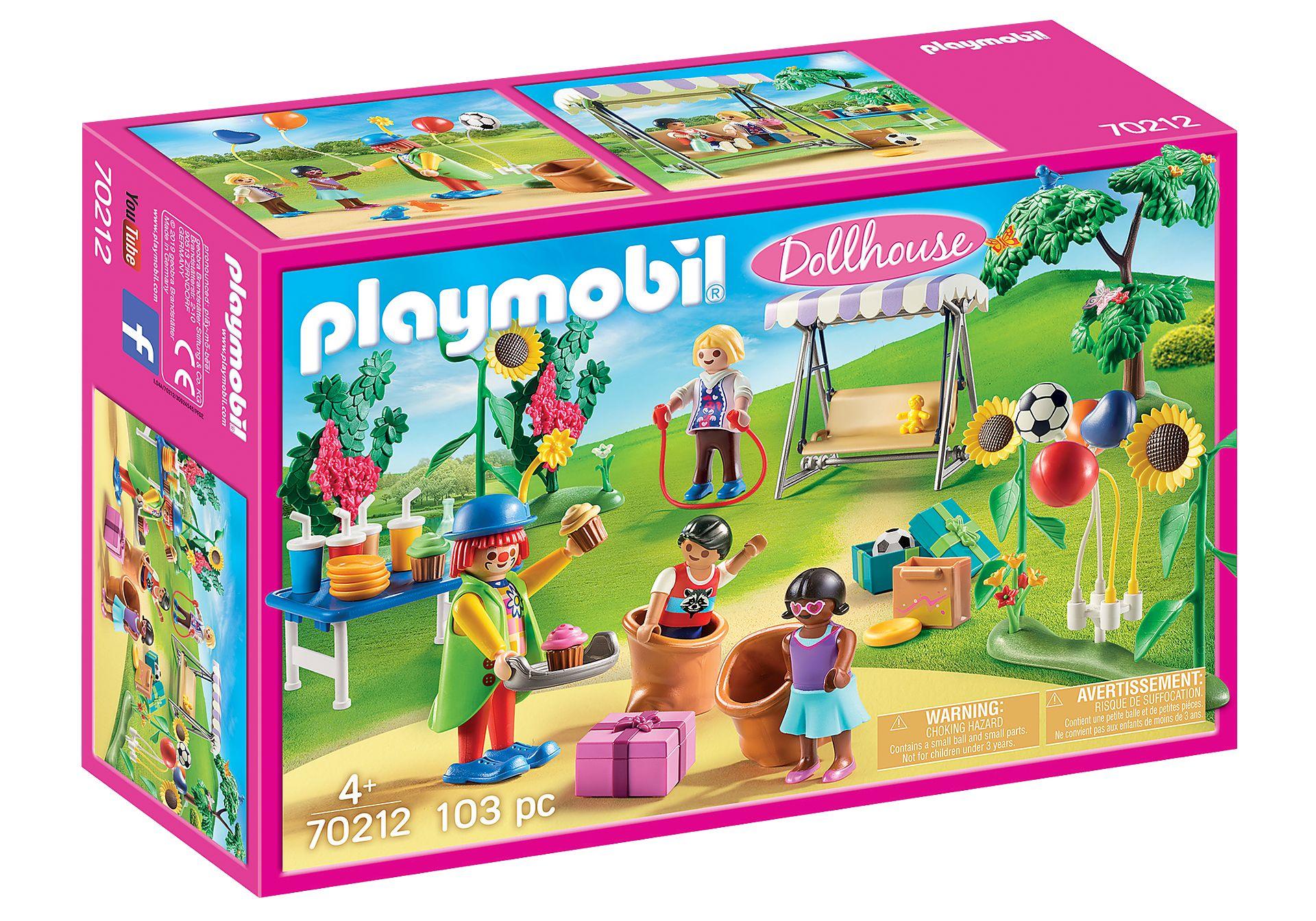 PLAYMOBIL 70212 FIESTA DE CUMPLEAÑOS INFANTIL