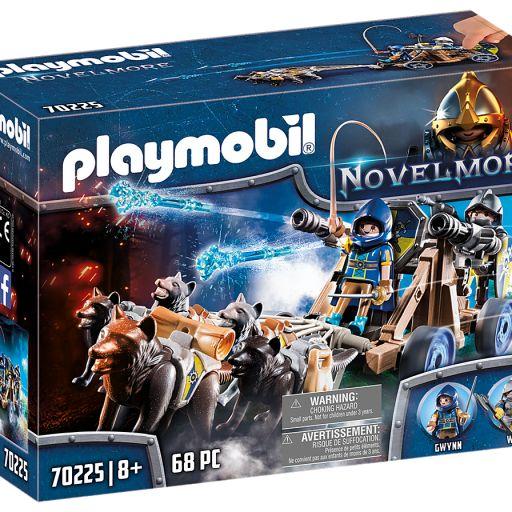 PLAYMOBIL 70225 EQUIPO LOBO NOVELMORE