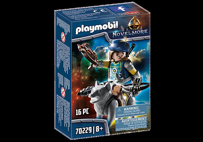 PLAYMOBIL 70229 BALLESTRO CON LOBO NOVELMORE