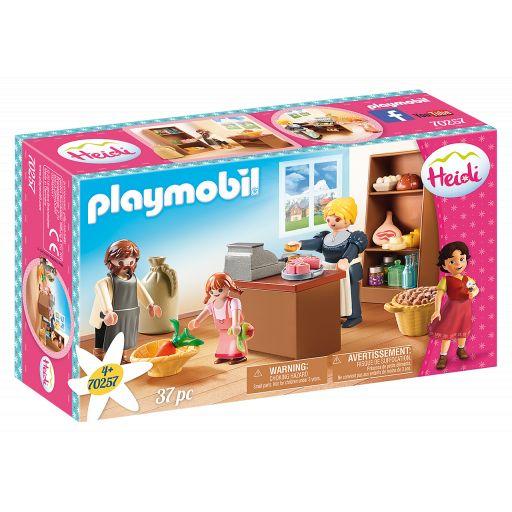 PLAYMOBIL 70257 TIENDA DEL PUEBLO DE LA FAMILIA KELLER (HEIDI)