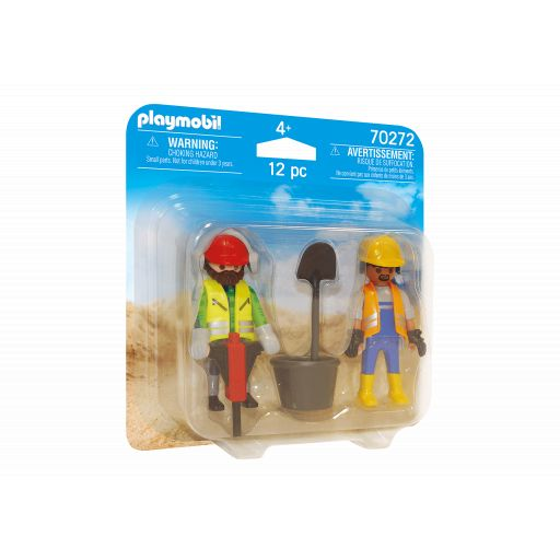 PLAYMOBIL 70272 DUO PACK OBREROS DE CONSTRUCCION