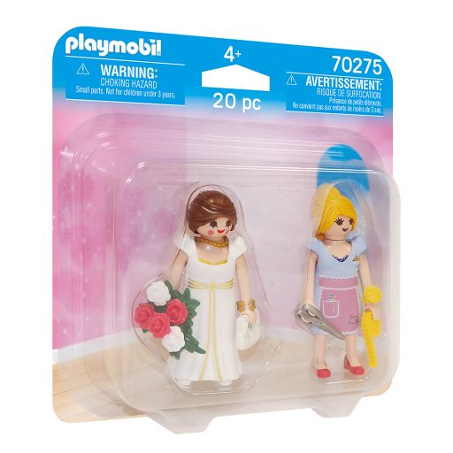 PLAYMOBIL 70275 DUO PACK NOVIA Y COSTURERA