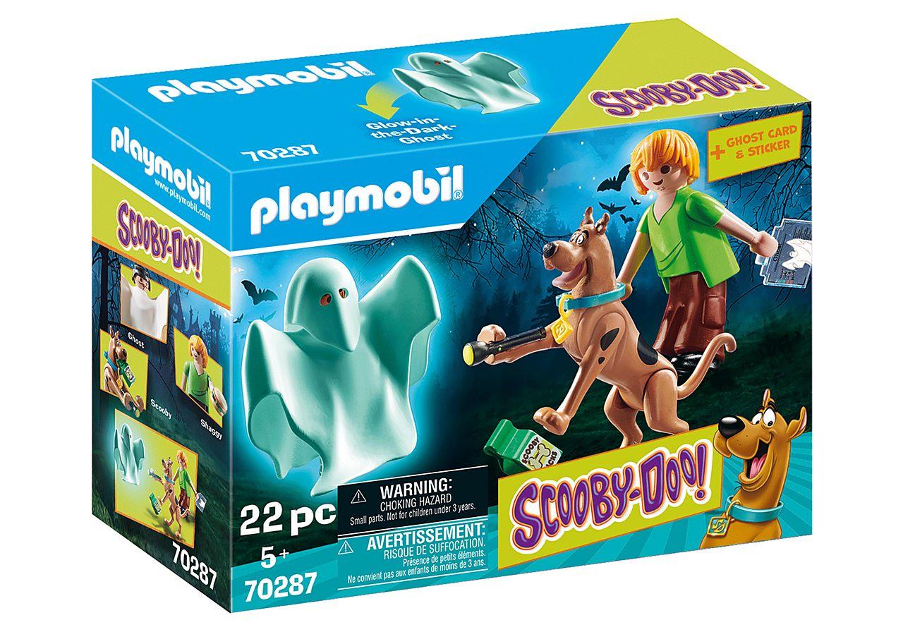PLAYMOBIL 70287 SCOOBY DOO! Scooby & Shaggy con Fantasma