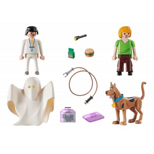 PLAYMOBIL 70287 SCOOBY DOO! Scooby & Shaggy con Fantasma [1]