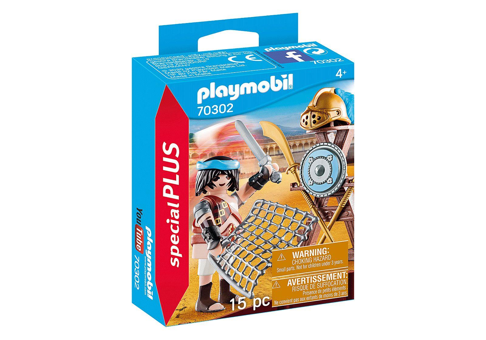 PLAYMOBIL 70302 SPECIAL  GLADIADOR CON ARMAS
