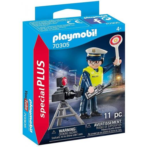 PLAYMOBIL 70305  SPECIAL POLICIA CON RADAR