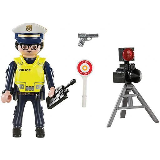 PLAYMOBIL 70305  SPECIAL POLICIA CON RADAR [1]