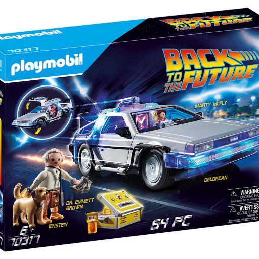 PLAYMOBIL 70317 Back to the Future DeLorean Regreso al futuro