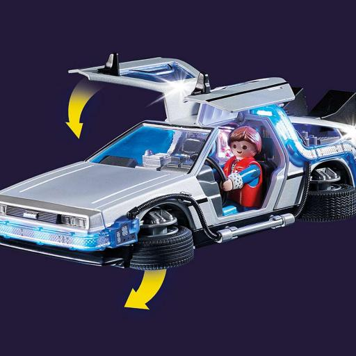 PLAYMOBIL 70317 Back to the Future DeLorean Regreso al futuro [1]