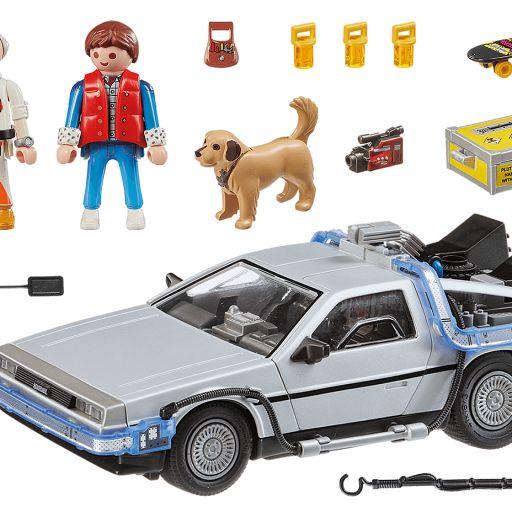 PLAYMOBIL 70317 Back to the Future DeLorean Regreso al futuro [2]