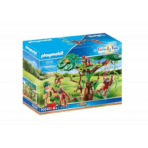 PLAYMOBIL 70345 ORANGUTANES EN EL ARBOL [0]