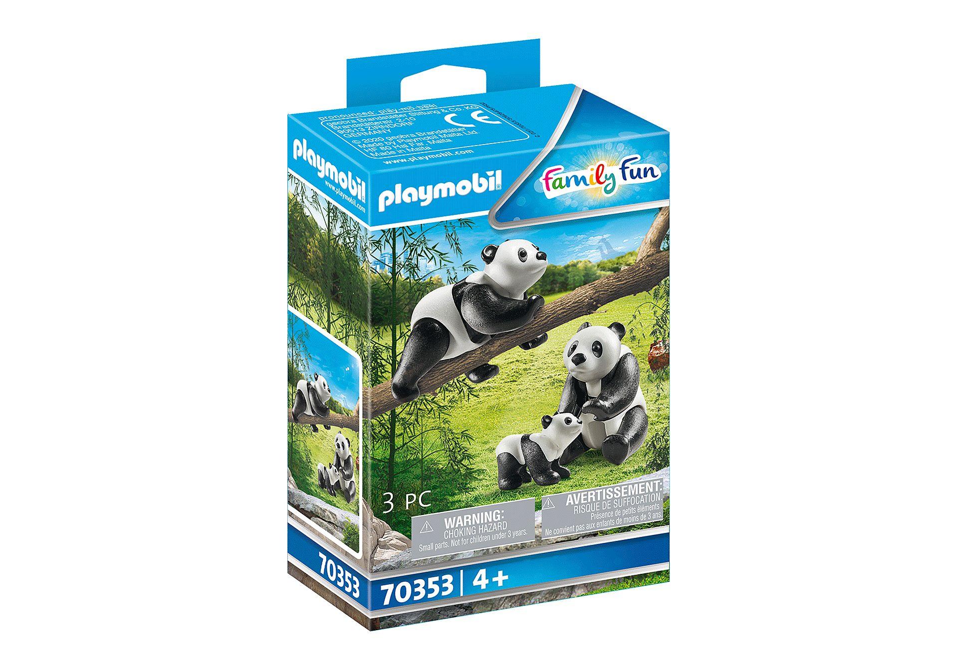 PLAYMOBIL 70353 PANDAS CON BEBES