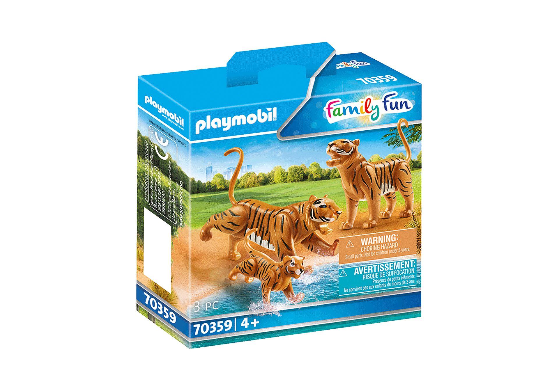 PLAYMOBIL 70359 TIGRES CON BEBE