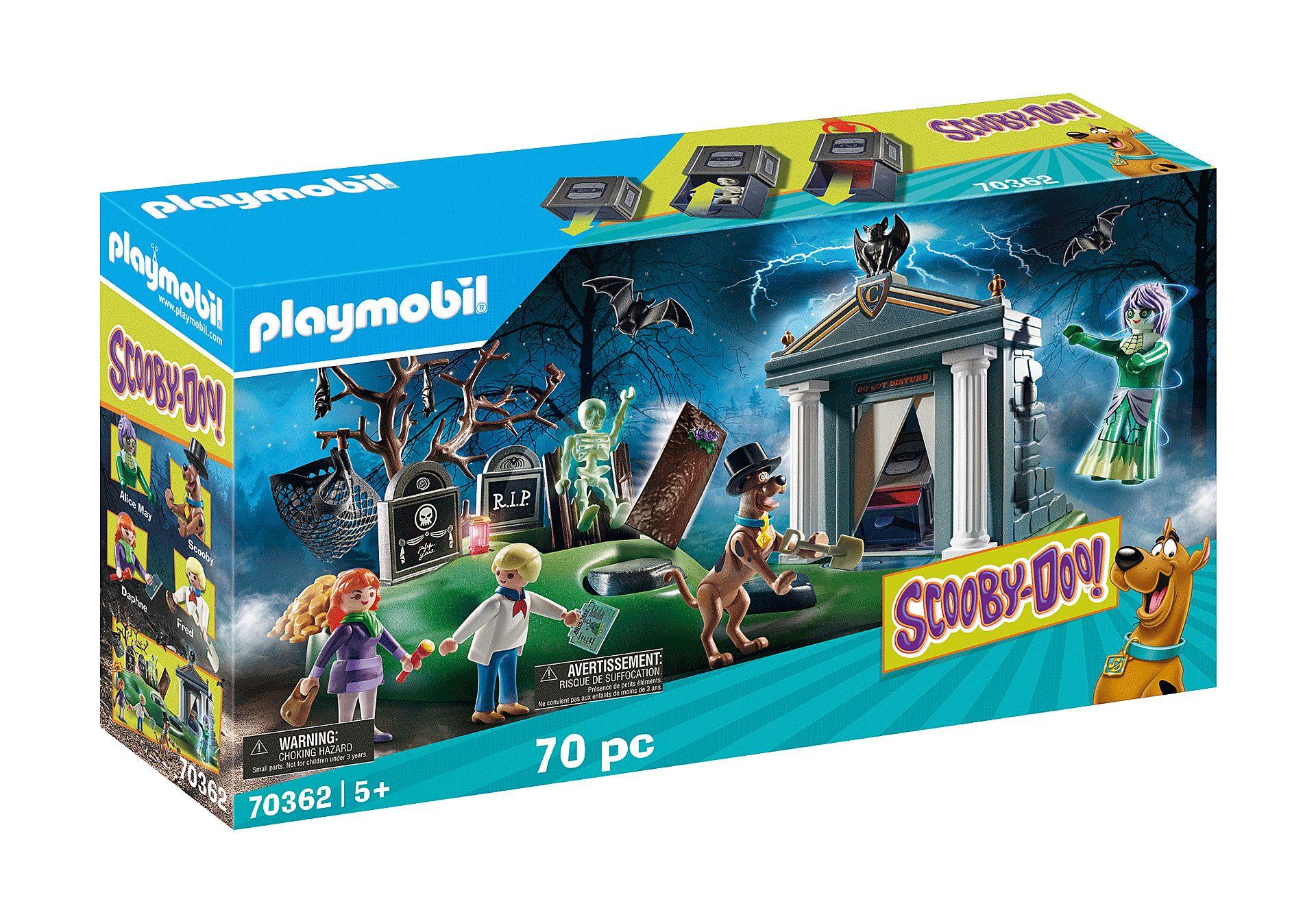 PLAYMOBIL 70362  SCOOBY-DOO AVENTURA EN EL CEMENTERIO