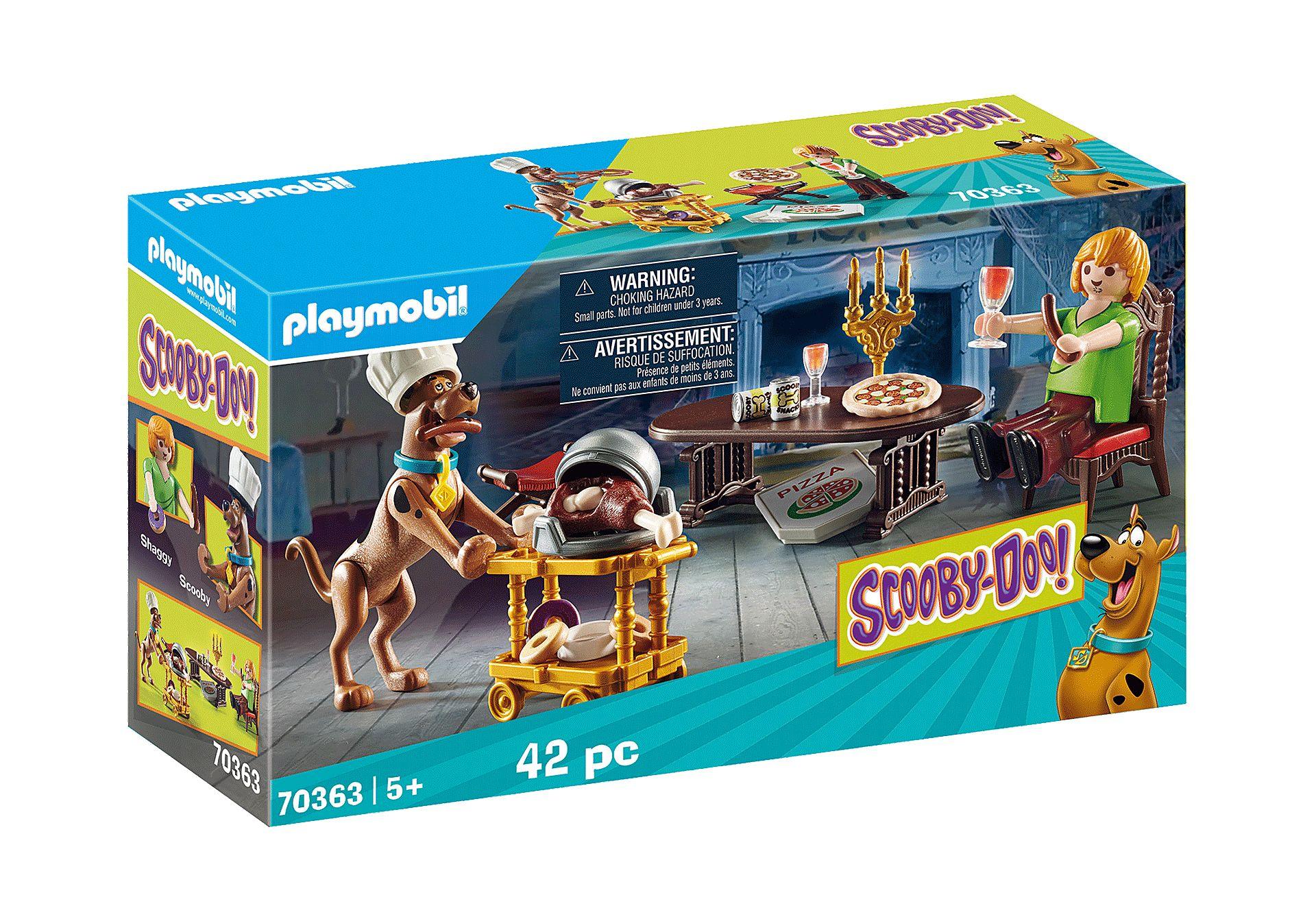 PLAYMOBIL 70363  SCOOBY-DOO CENA CON SHAGGY