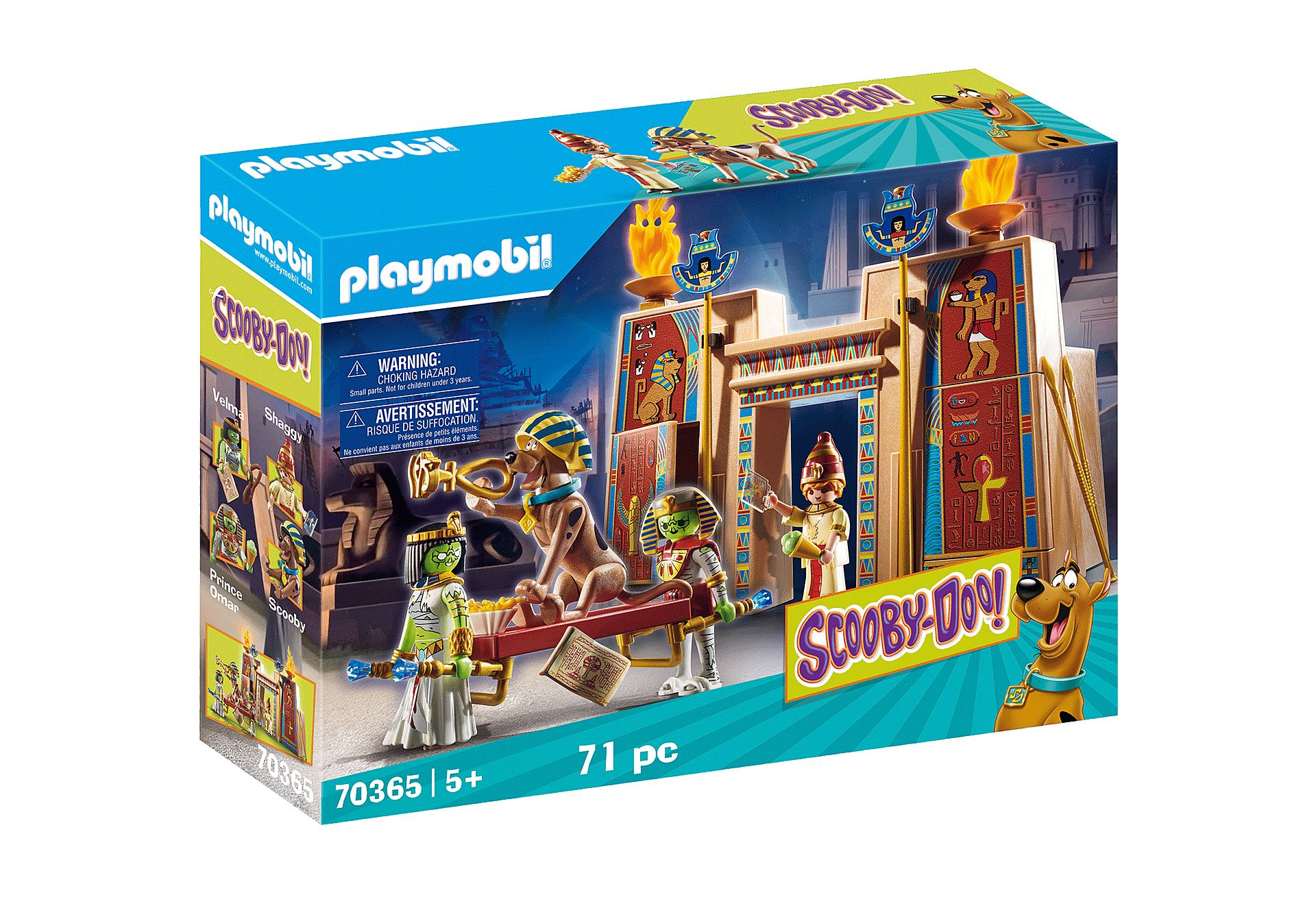 PLAYMOBIL 70365  SCOOBY-DOO AVENTURA EN EGIPTO