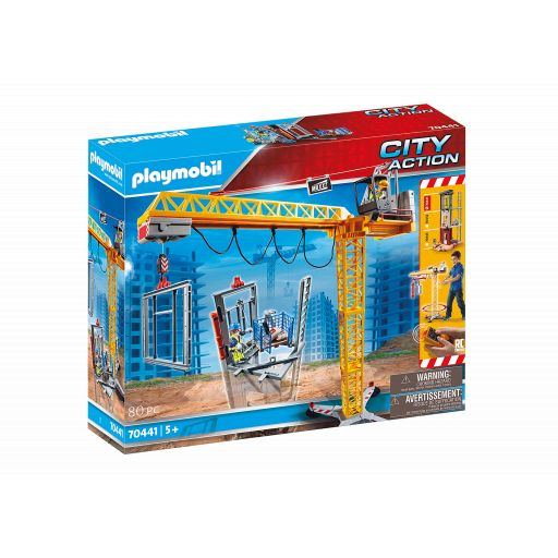 PLAYMOBIL 70441 GRUA CONSTRUCCION RC