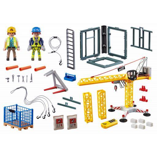 PLAYMOBIL 70441 GRUA CONSTRUCCION RC [1]