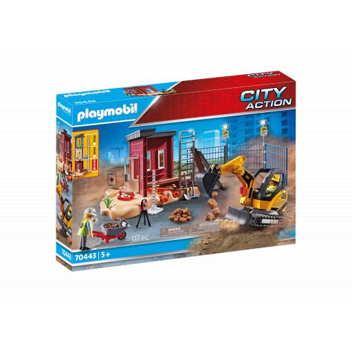 PLAYMOBIL 70443  MINI EXCAVADORA