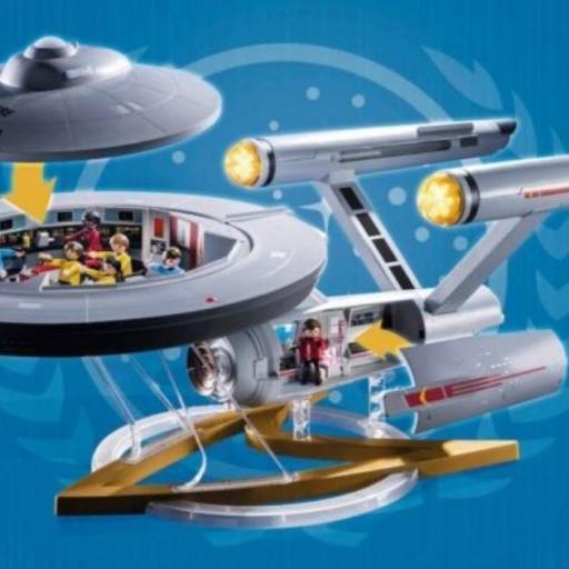 RESERVA PLAYMOBIL 70548 STAR TREK - U.S.S. ENTERPRISE NCC - 1701 [1]