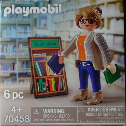 PLAYMOBIL 70458 LIBRERA (EDICION ESPECIAL 100 LIBRERIA THALIA)