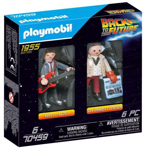 PLAYMOBIL 70459 Regreso al futuro Marty McFly y Dr. Emmett Brown  Back to the Future [1]