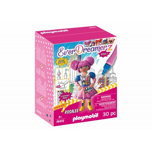 PLAYMOBIL 70472 EVERDREAMERZ SERIE 2 COMIC WORLD - ROSALEE
