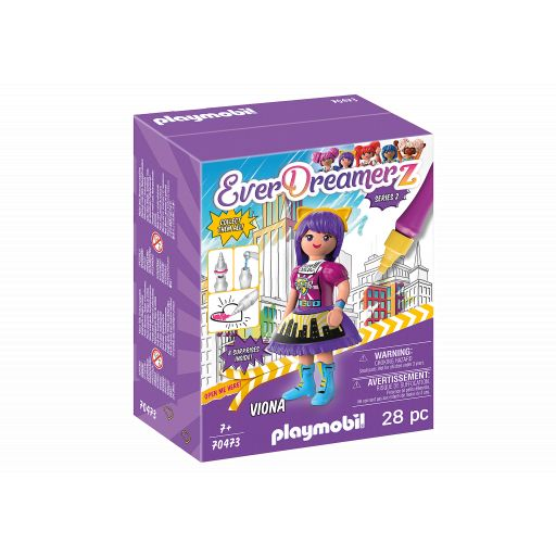 PLAYMOBIL 70473 EVERDREAMERZ SERIE 2 COMIC WORLD - VIONA