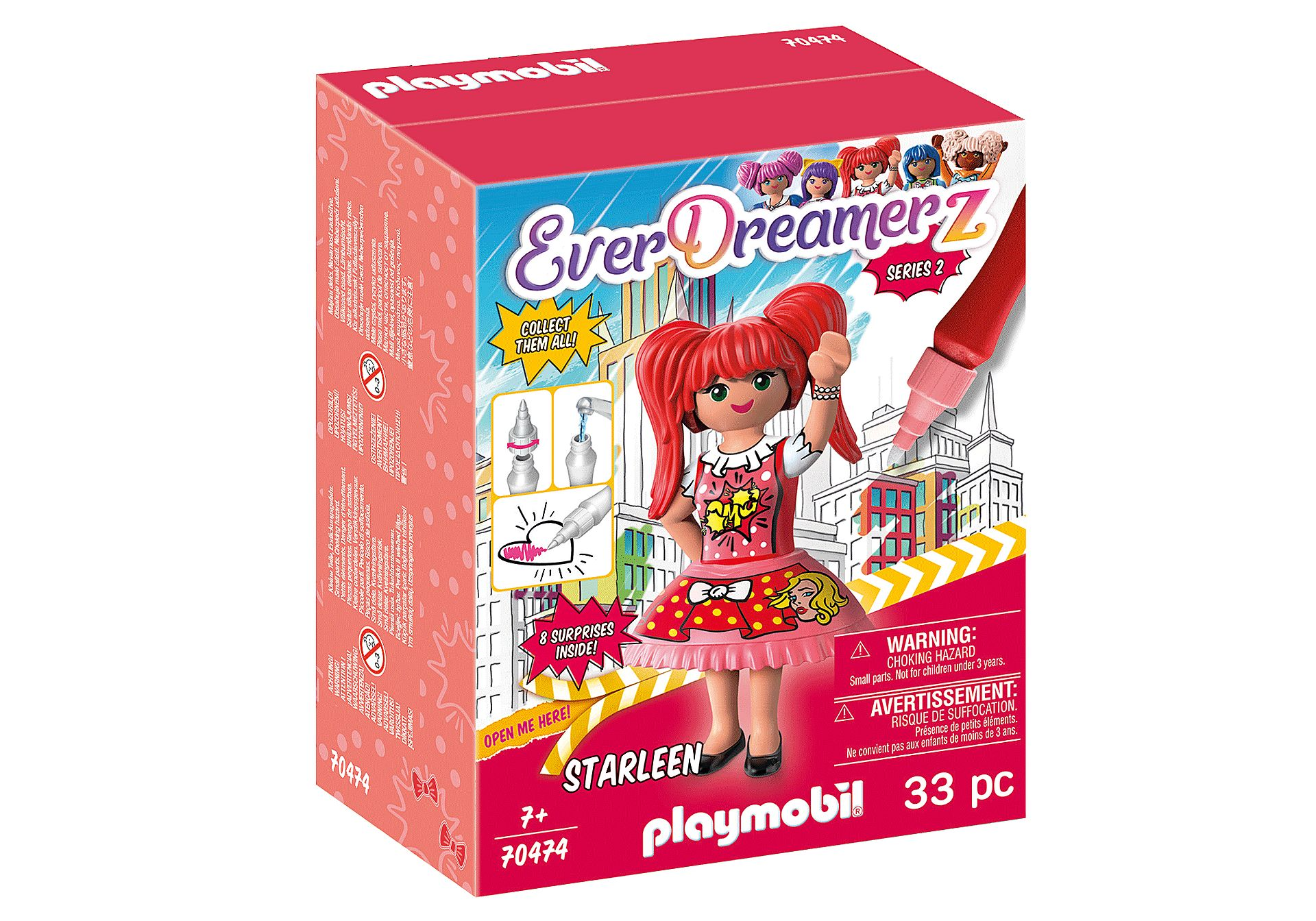PLAYMOBIL 70474 EVERDREAMERZ SERIE 2 COMIC WORLD - STARLEEN