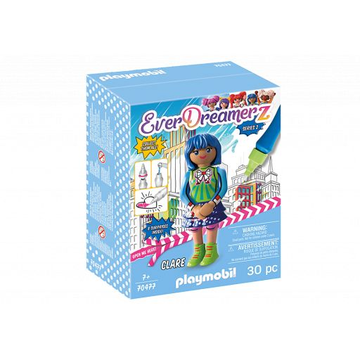 PLAYMOBIL 70477 EVERDREAMERZ SERIE 2 COMIC WORLD - CLARE