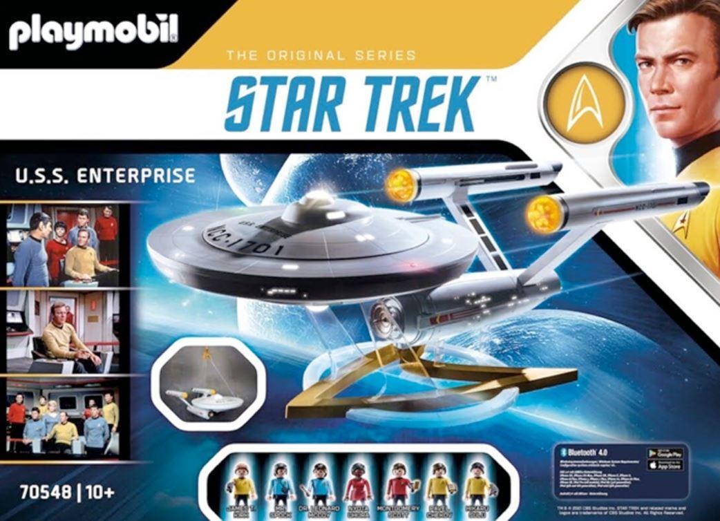 RESERVA PLAYMOBIL 70548 STAR TREK - U.S.S. ENTERPRISE NCC - 1701