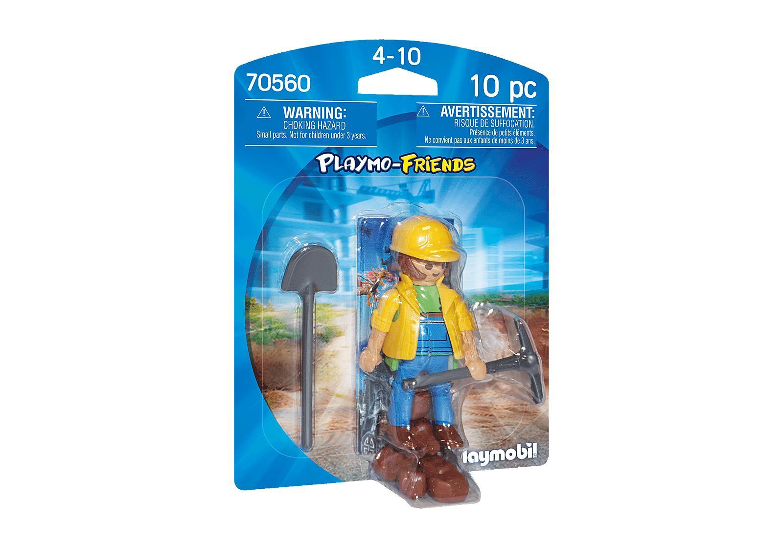 PLAYMOBIL 70560 PLAYMO-FRIENDS OBRERO DE CONSTRUCCION